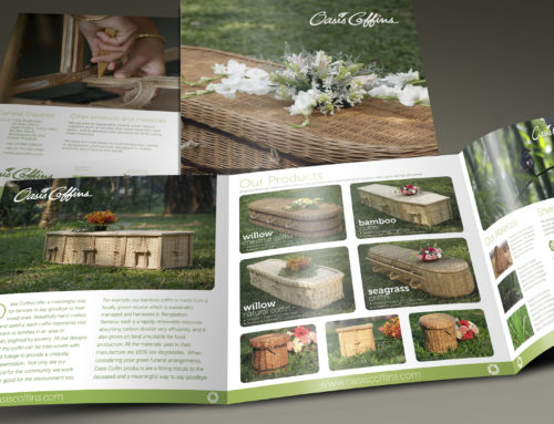 Oasis Coffins Branding & Design