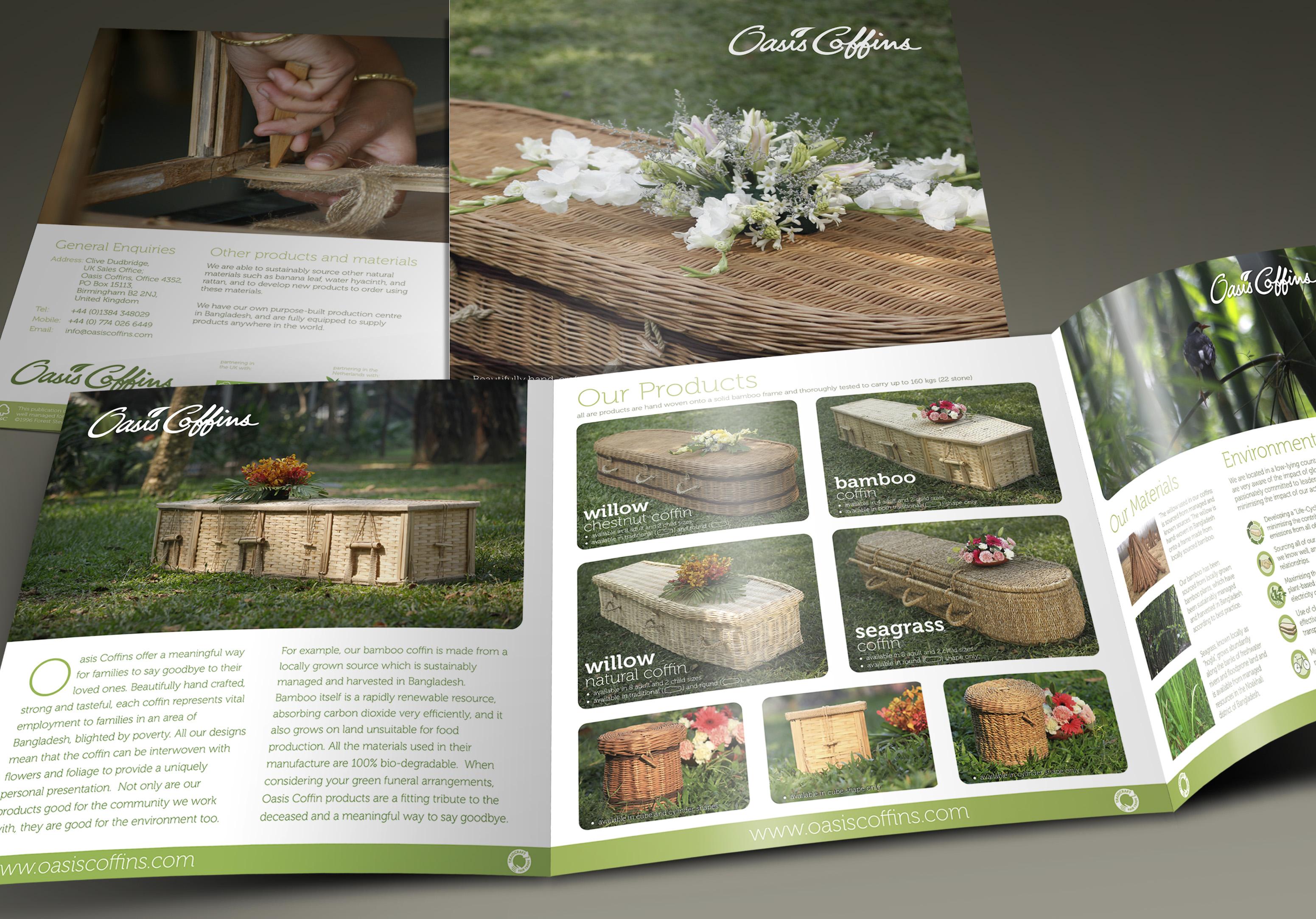 Oasis Coffins Brochure